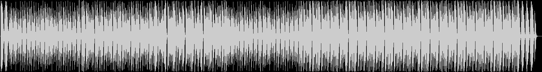 マリンバとギターのほのぼのとしたポップスの未再生の波形