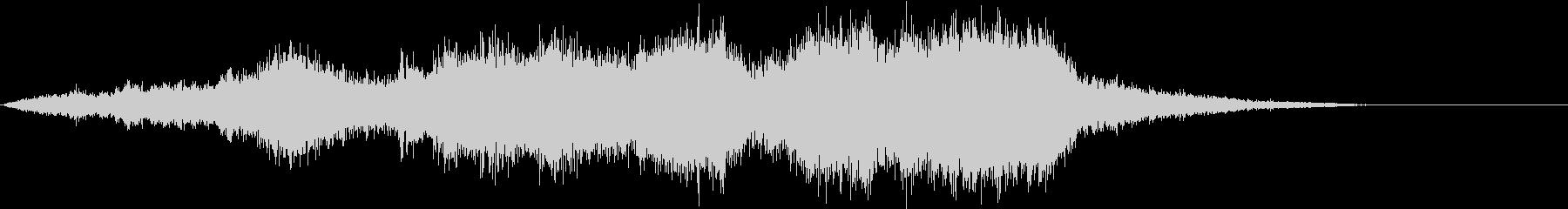 CINEMATIC RISER_21の未再生の波形