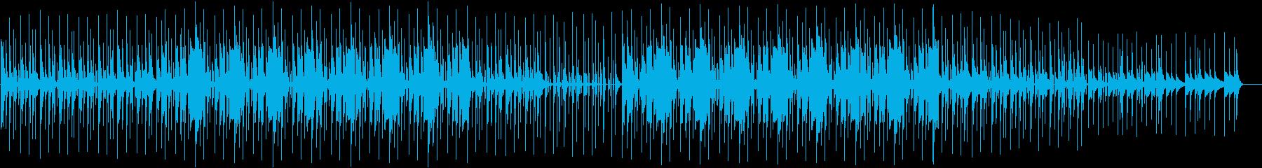 幻想的かつダンサブル、未来的でクールな曲の再生済みの波形