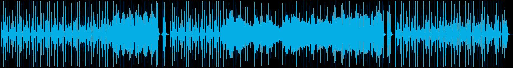 待ち時間、選択時のシンプルな音楽の再生済みの波形