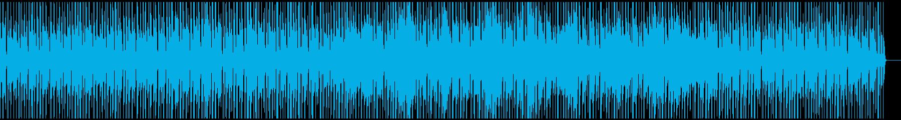 ドラムとベースの激しい曲 の再生済みの波形