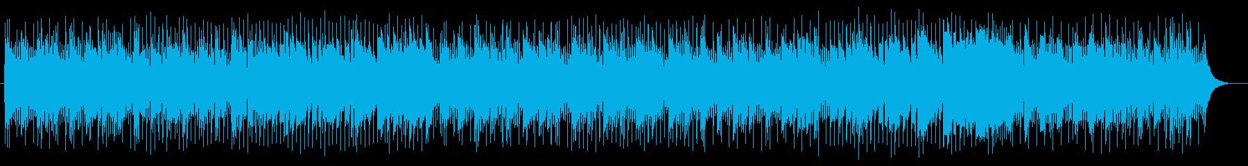 エレキギターとピアノ楽しいポップサウンドの再生済みの波形