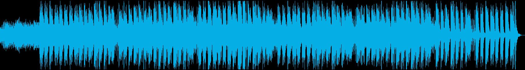 落ち着いた優しいピアノサウンドの再生済みの波形