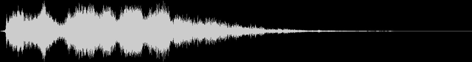 ヘビーザップの未再生の波形