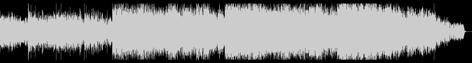 デジタルパンクなIDMテクスチャの未再生の波形