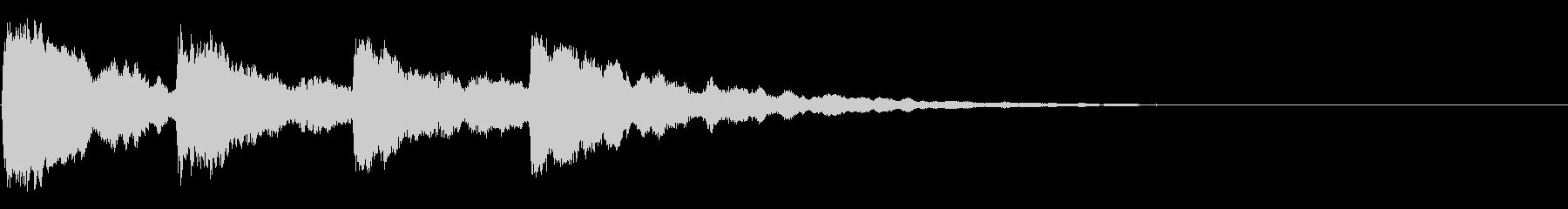 ピンポンパンポン02-3の未再生の波形