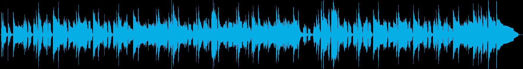 動画】ほんわかしたクラリネットBGMの再生済みの波形