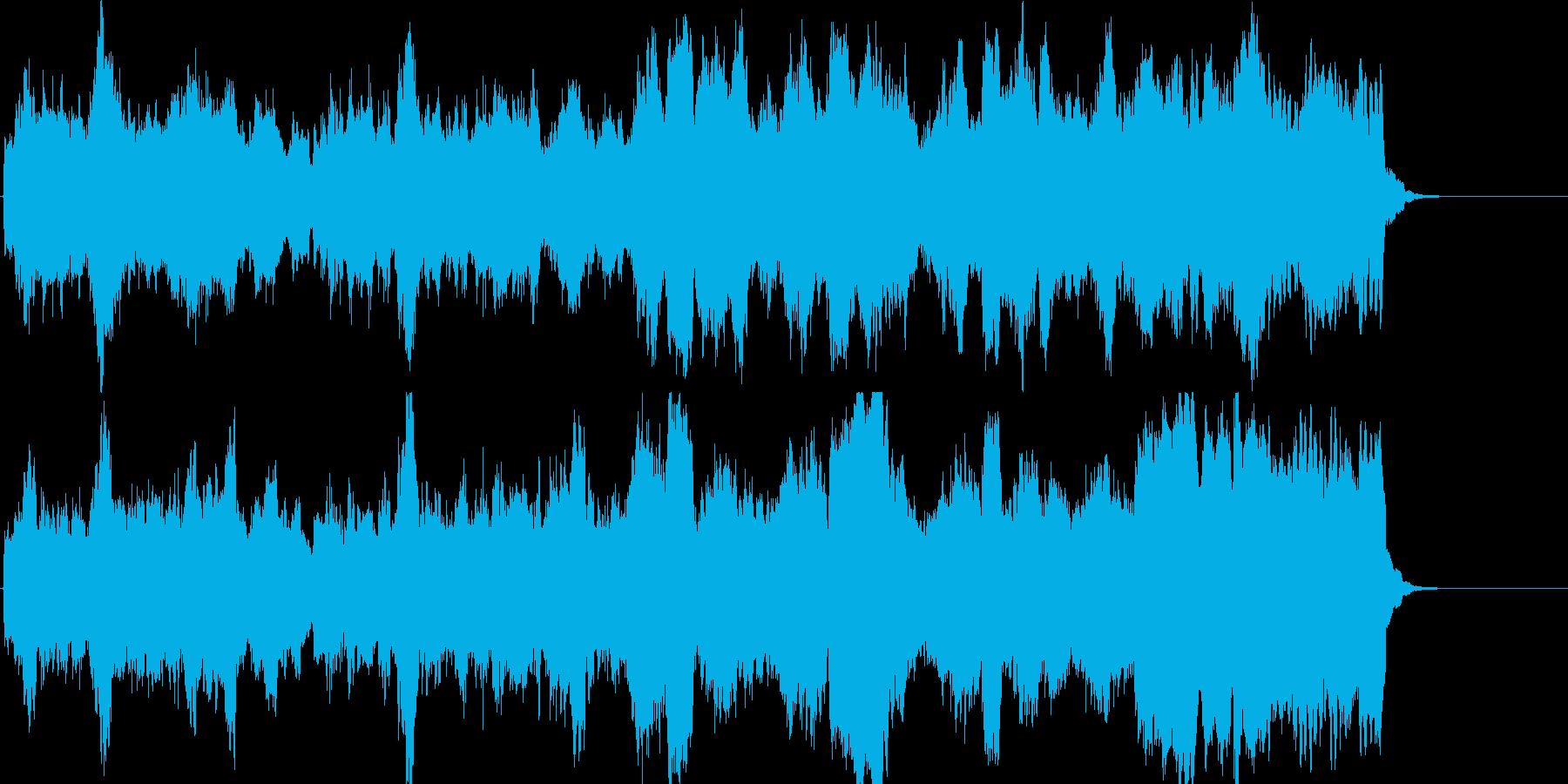優雅で上品なライトクラシックの再生済みの波形