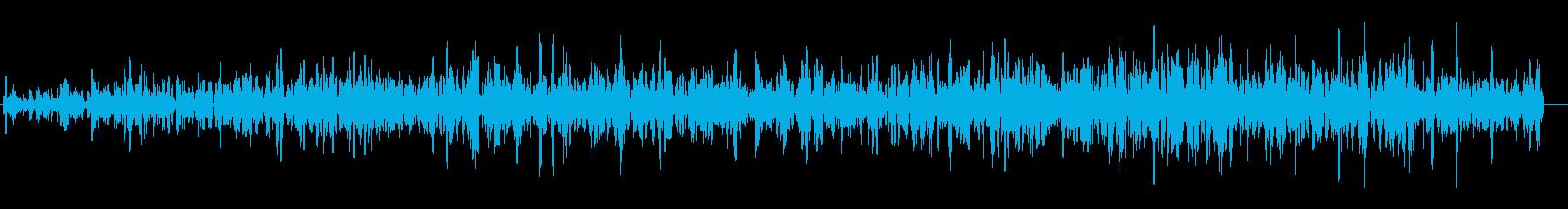 ドドド(ヘリコプター、沸騰、足音など)の再生済みの波形