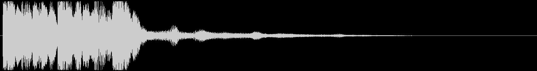 【ジングル】マリンバ ほのぼの 明るい2の未再生の波形