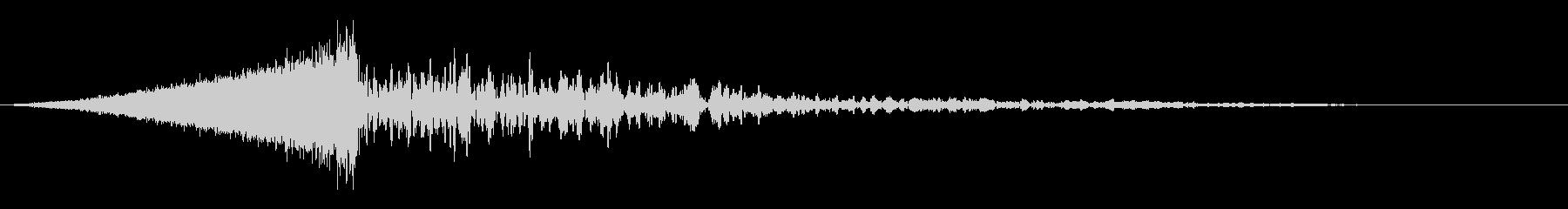 シュードン:上昇していく音オープニング2の未再生の波形