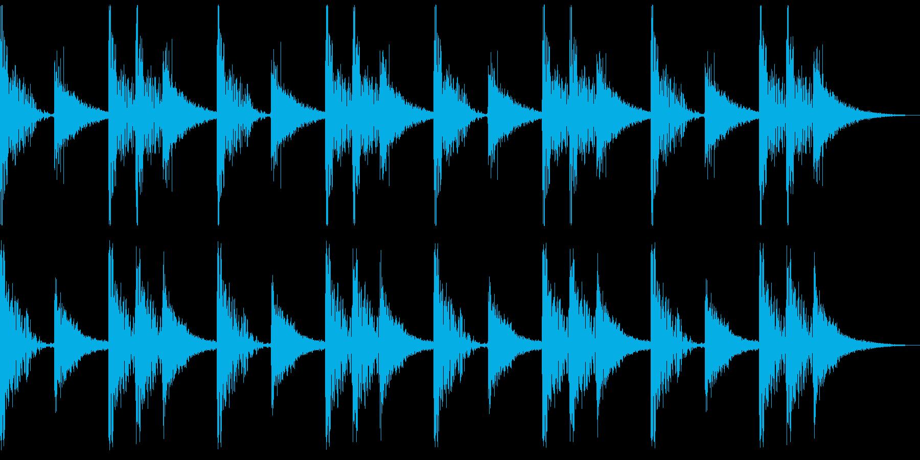 パワフルなストンプ・クラップのクイーン風の再生済みの波形