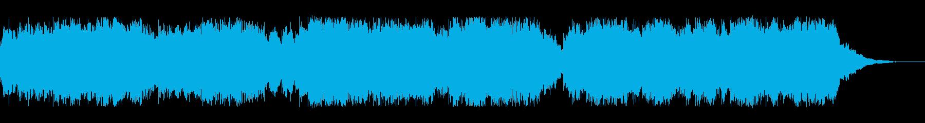 可愛い勇ましいオルゴールの曲の再生済みの波形