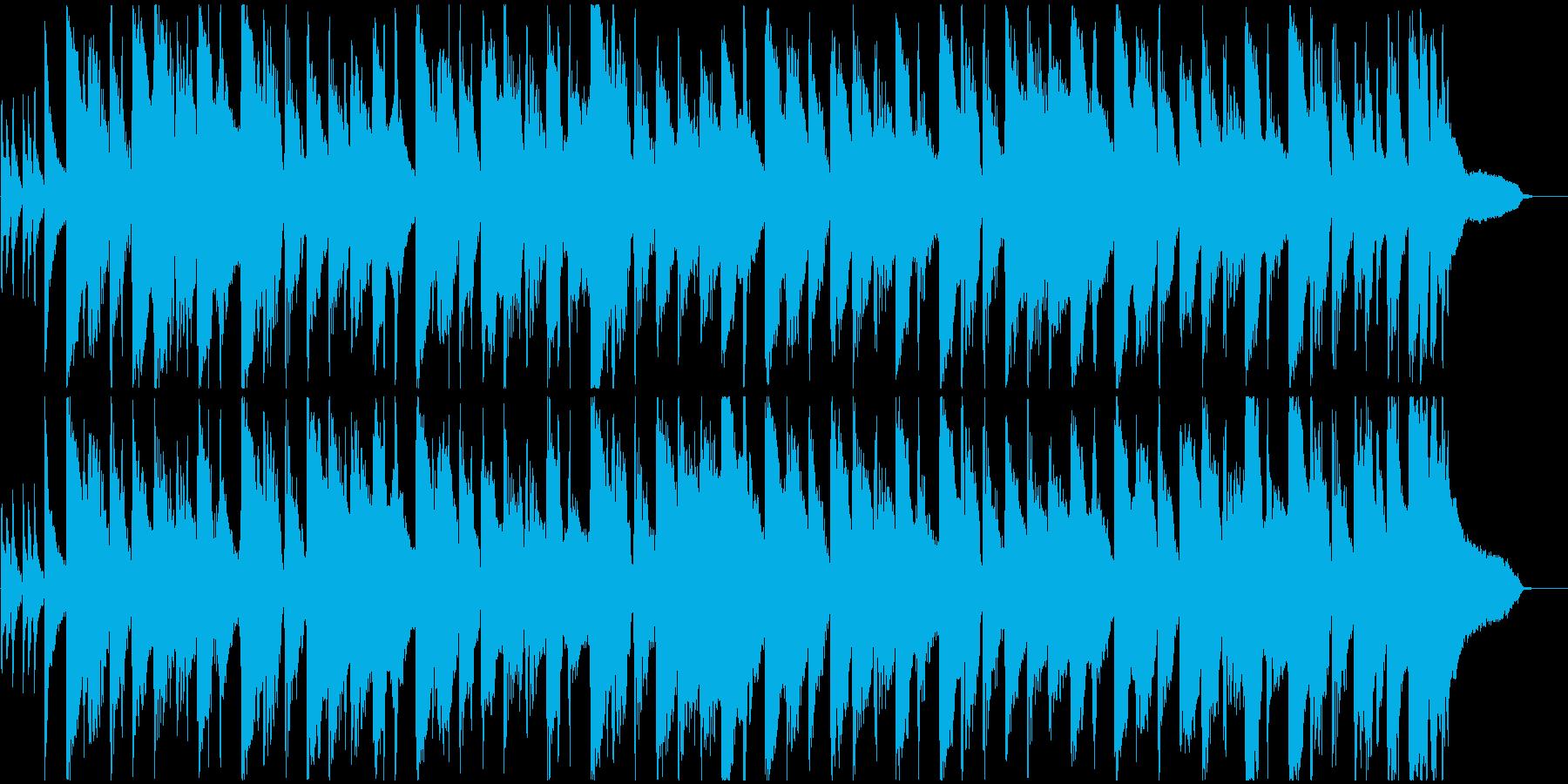 ほのぼのとしたカントリー風ジングル2の再生済みの波形