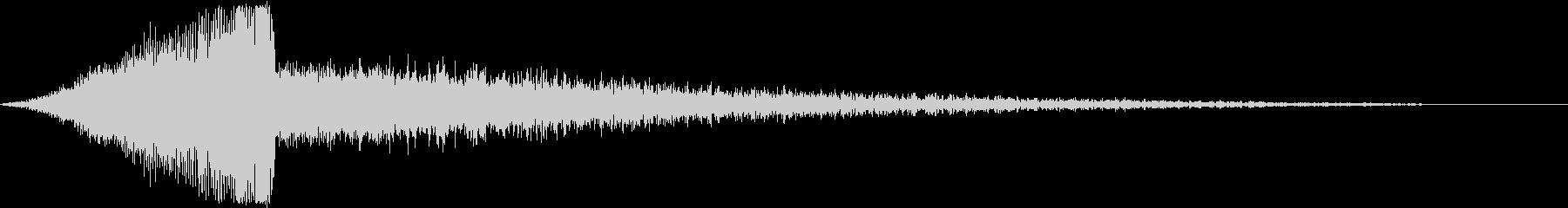【シーン切替】ダークシネマサウンド_04の未再生の波形