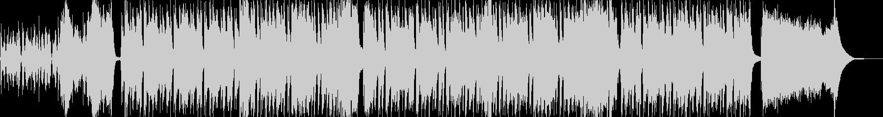 ベースがリードの珍しいシャッフルインストの未再生の波形