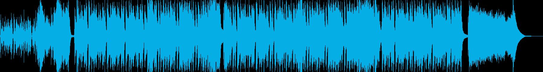ベースがリードの珍しいシャッフルインストの再生済みの波形