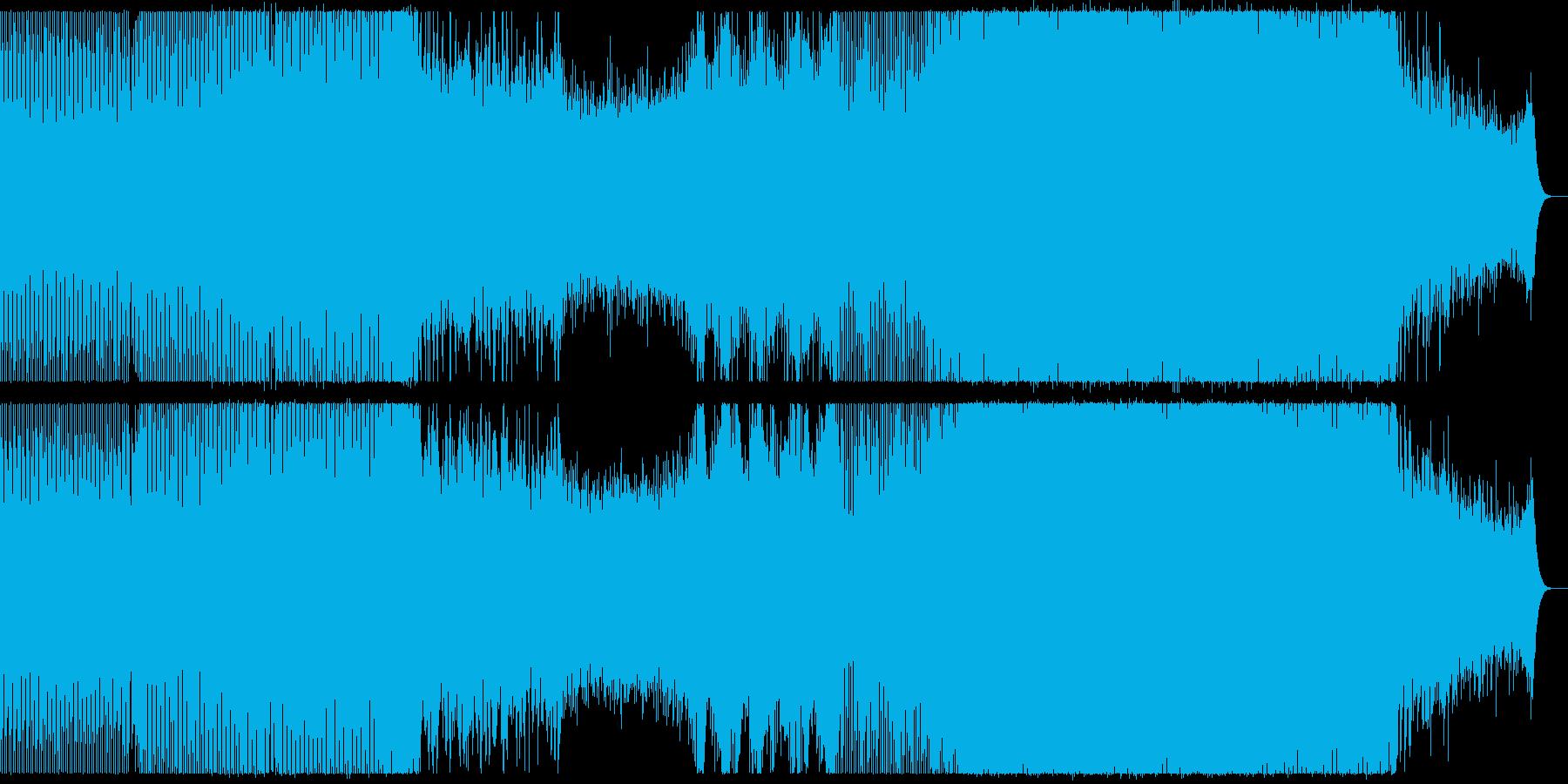 爽やかでゆったりなプログレッシブハウス。の再生済みの波形