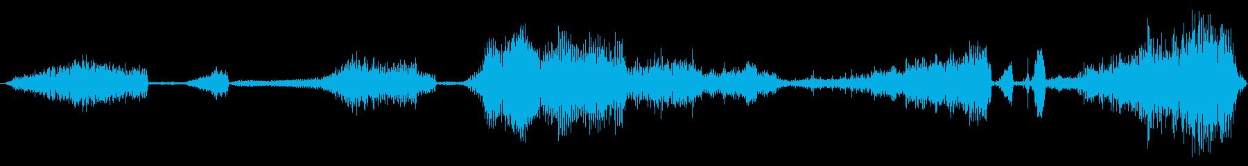 HISSES AND SPIT、C...の再生済みの波形