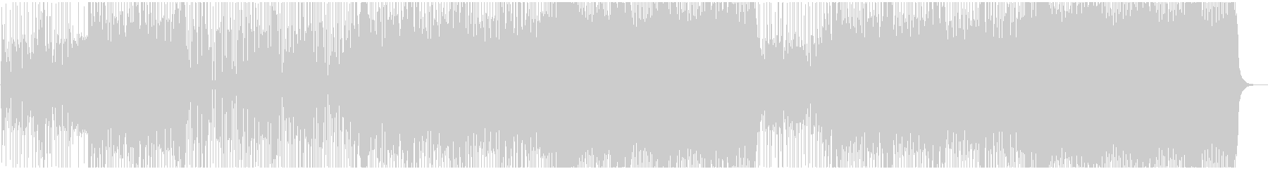 金属 燃焼 エレキギター ドラムキットの未再生の波形