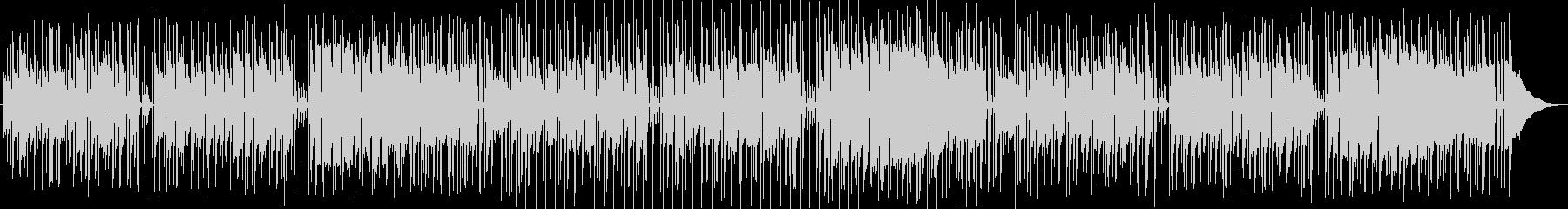 アニメ劇伴風のお洒落ポップスBGMの未再生の波形