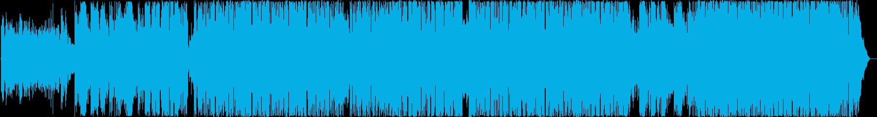ニューエイジ、ピアノ、ベルメロディ...の再生済みの波形