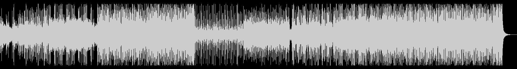 太鼓や和楽器を強調した和風アシッドテクノの未再生の波形