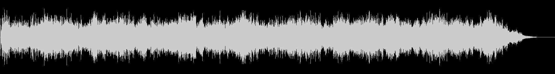 ノイジーで不気味な背景音(ホラーなどに)の未再生の波形
