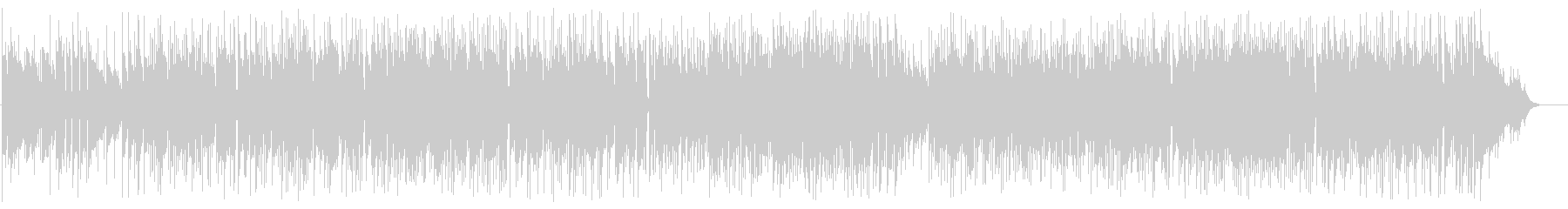 ギターメインのボサノバポップフュージョンの未再生の波形
