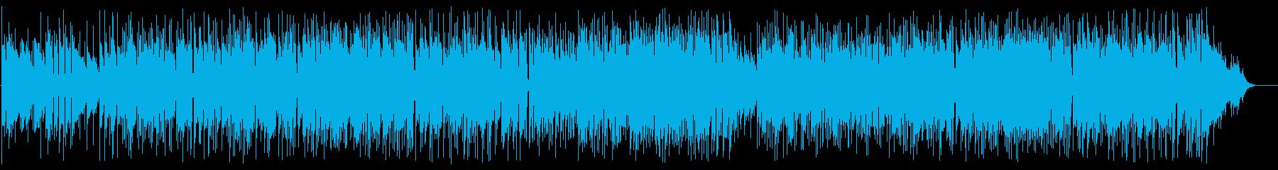ギターメインのボサノバポップフュージョンの再生済みの波形
