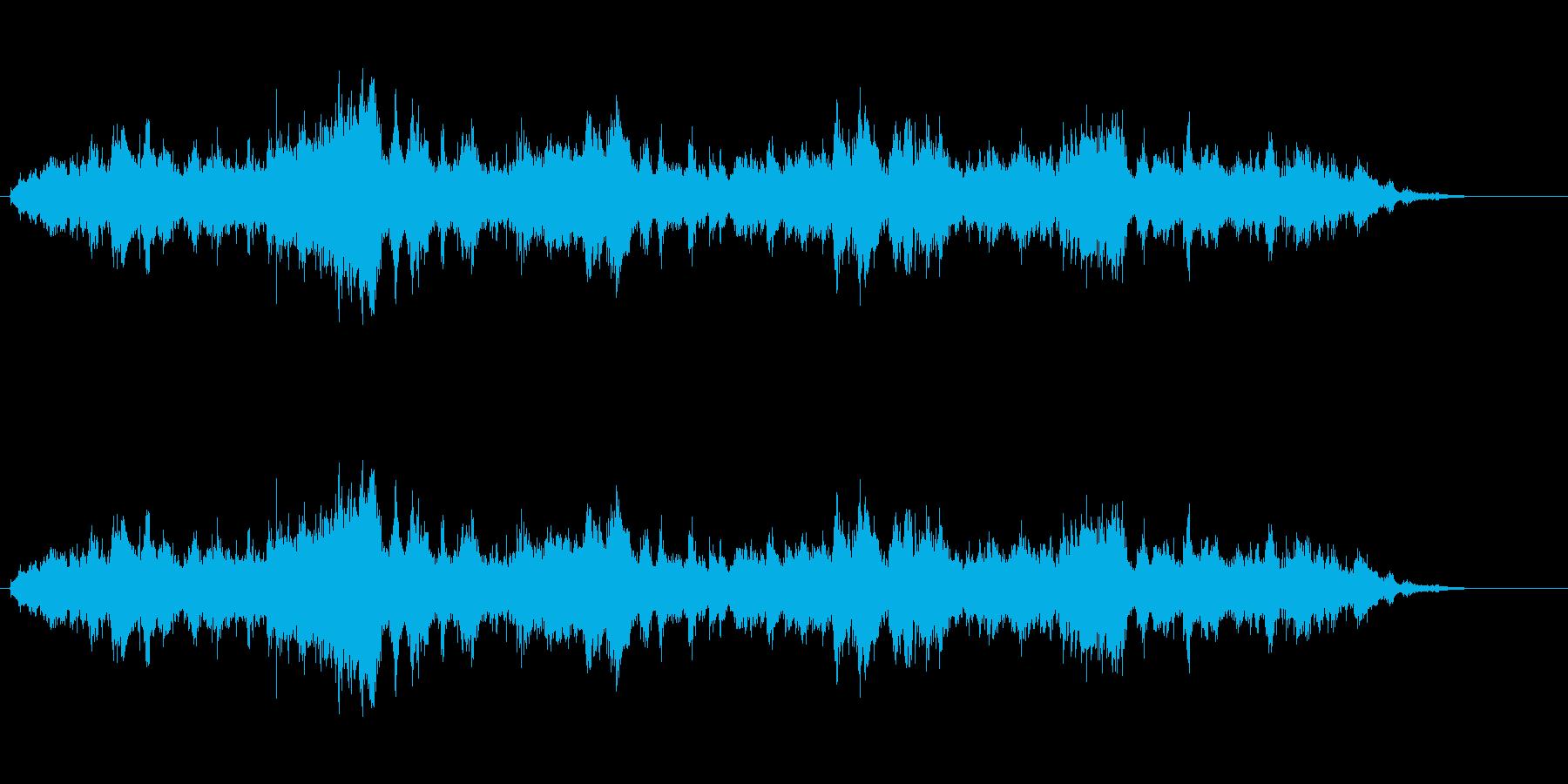 気持ち悪い、耳障り、 具合が悪くなる音2の再生済みの波形