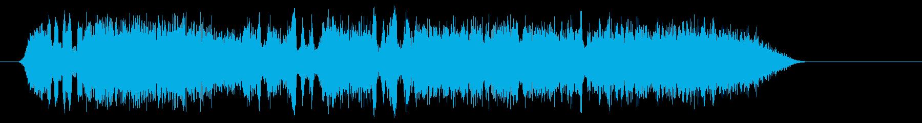 サッカーファン2の再生済みの波形