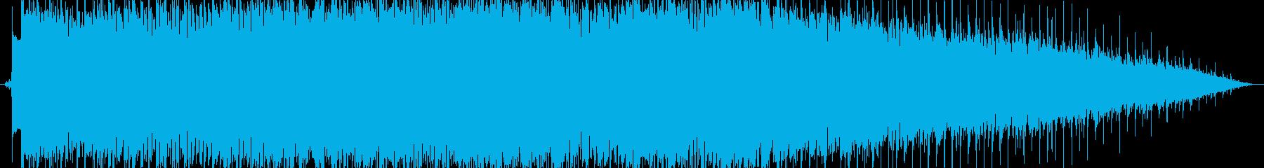 歯ごたえのあるギターのメロディー、...の再生済みの波形