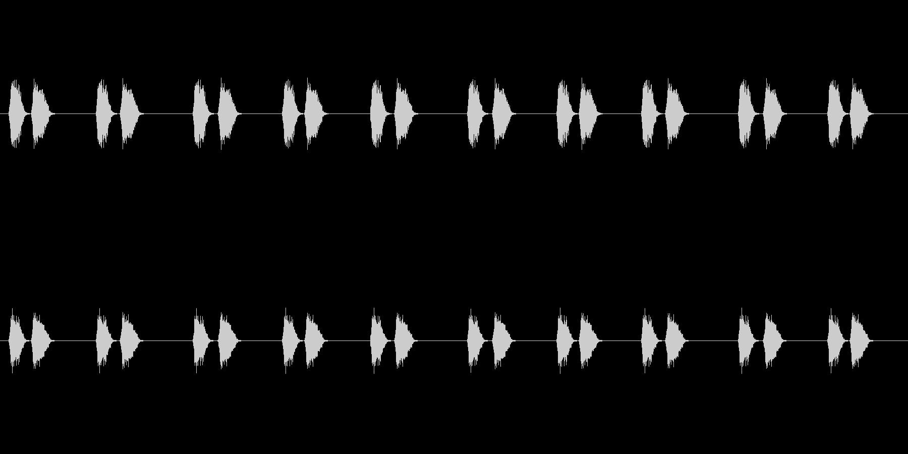 【カラス 生録 環境01-1】の未再生の波形