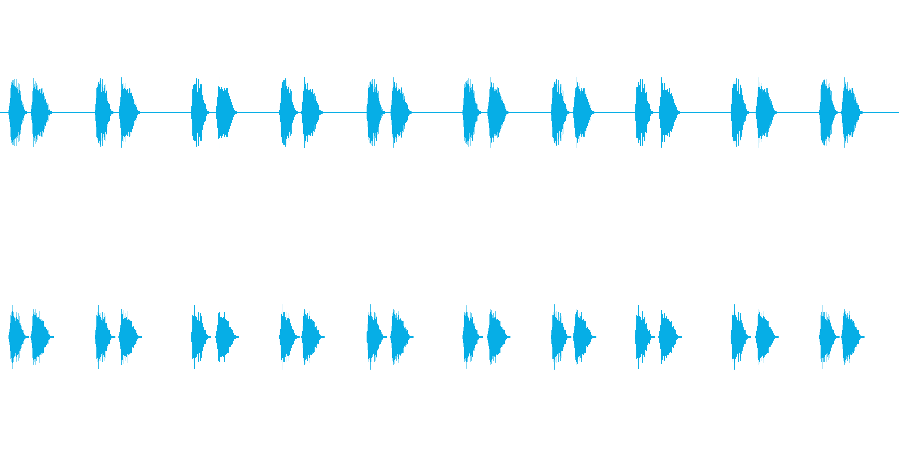 【カラス 生録 環境01-1】の再生済みの波形