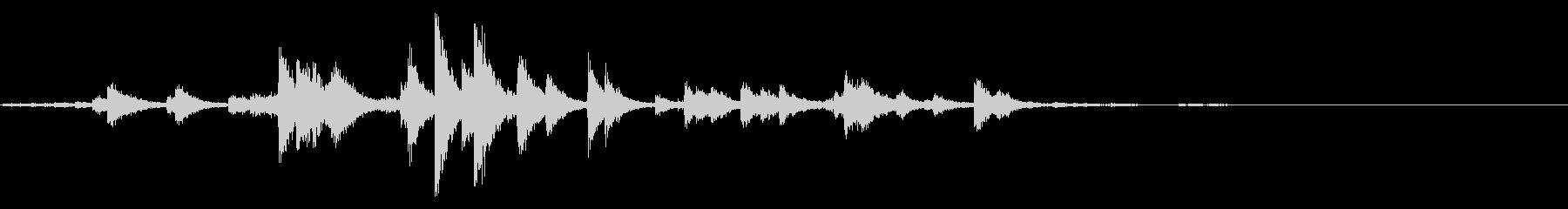 金刀比羅神社の鈴の音【徳島】の未再生の波形