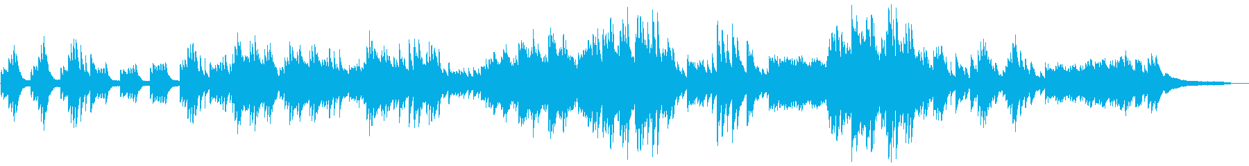 しっとりと切ない 静謐なピアノソロの再生済みの波形