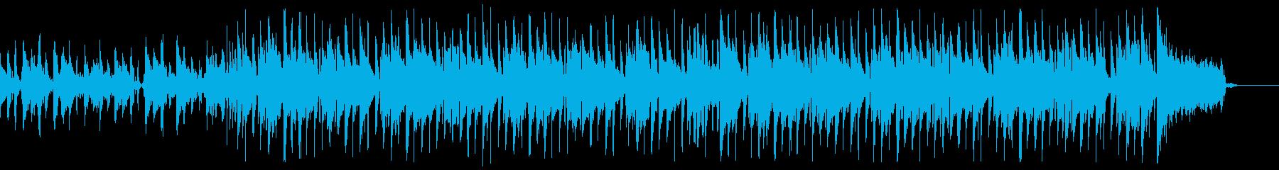 アコギが可愛いSurf music60秒の再生済みの波形