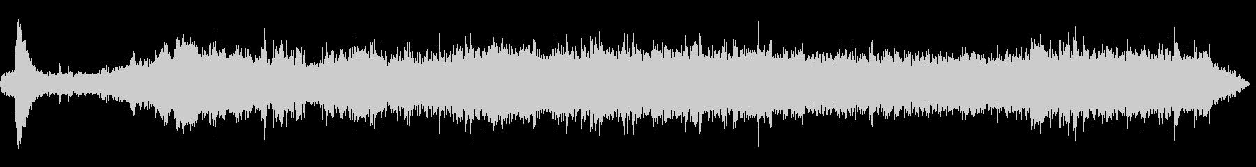 箱根登山鉄道 発車時の車内の未再生の波形