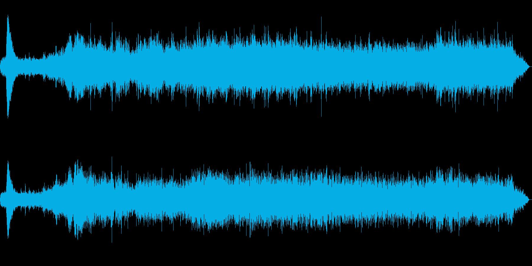 箱根登山鉄道 発車時の車内の再生済みの波形