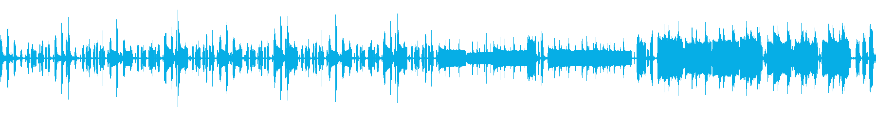 リコーダーメインのほのぼの系です ループの再生済みの波形
