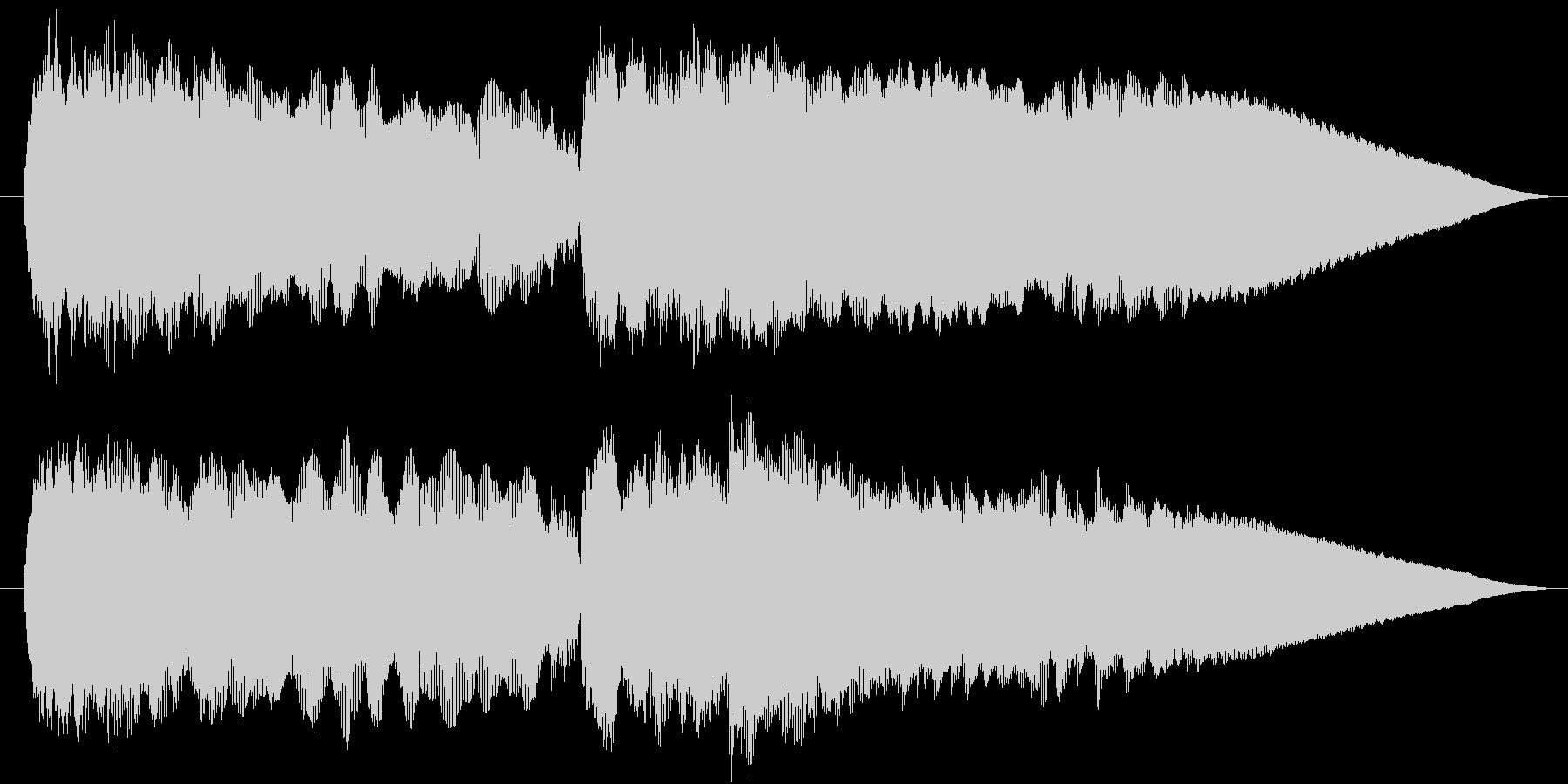 エレキギターでベートーヴェン5番 運命の未再生の波形