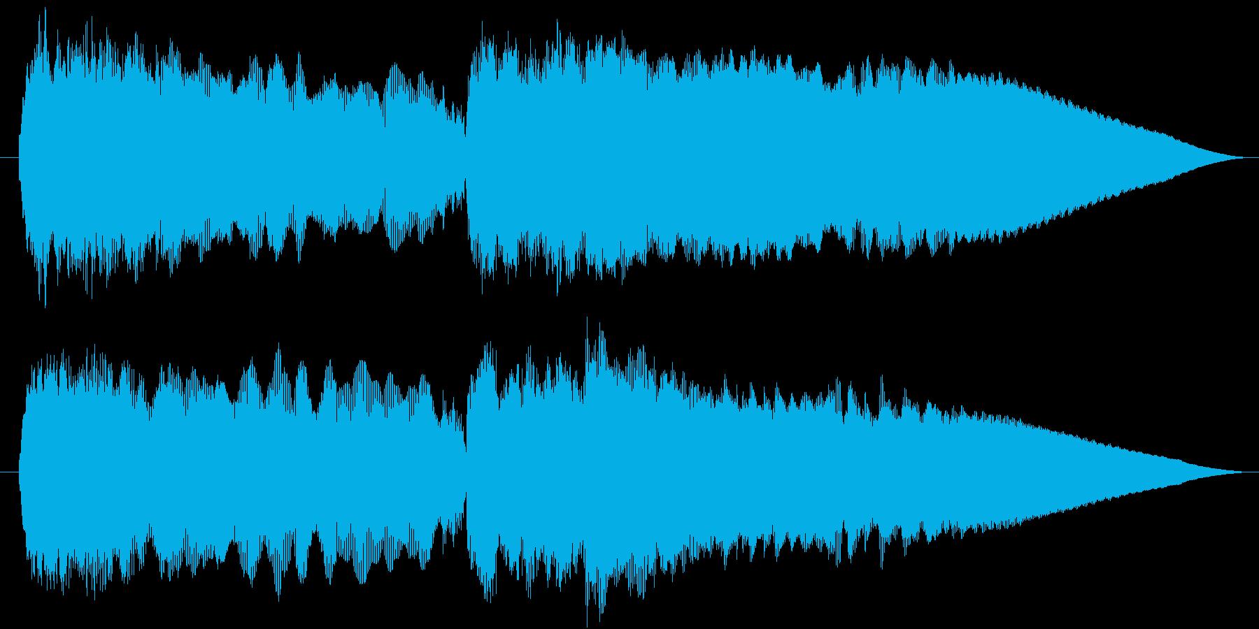 エレキギターでベートーヴェン5番 運命の再生済みの波形
