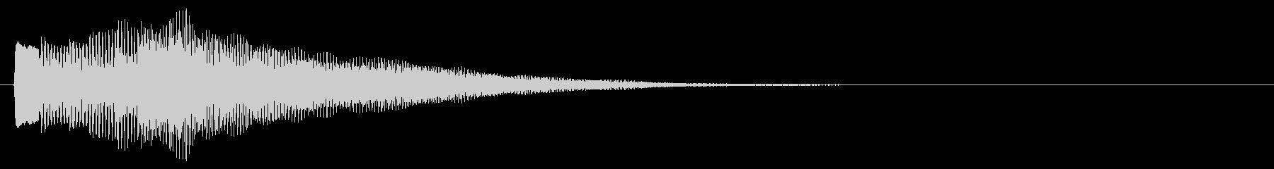 ハープ系 長いフレーズ5(特)の未再生の波形