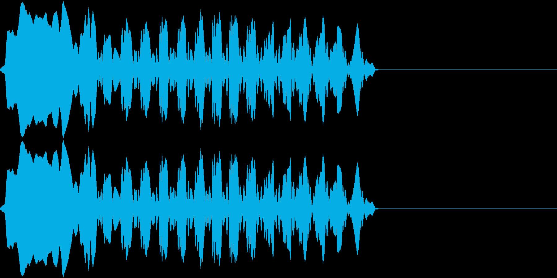 尺八 雅 和風 の再生済みの波形
