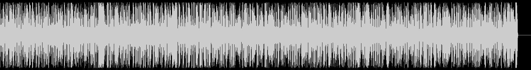 エネルギッシュで速い ジャズピアノBGMの未再生の波形