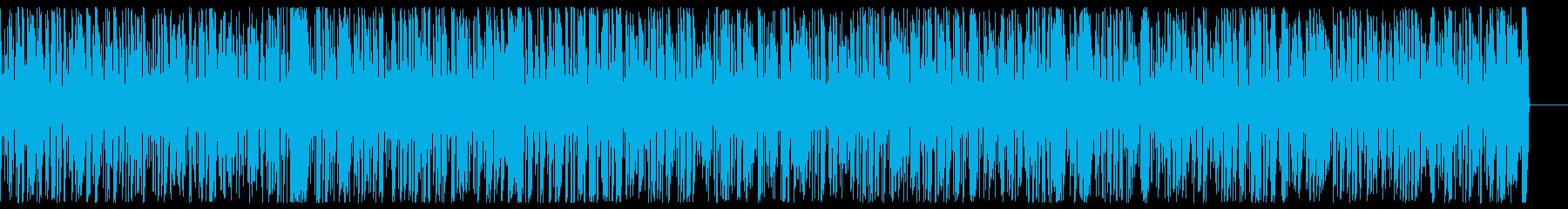 エネルギッシュで速い ジャズピアノBGMの再生済みの波形