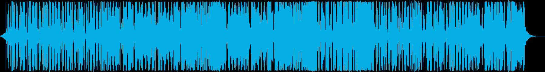 和風テクノポップの再生済みの波形