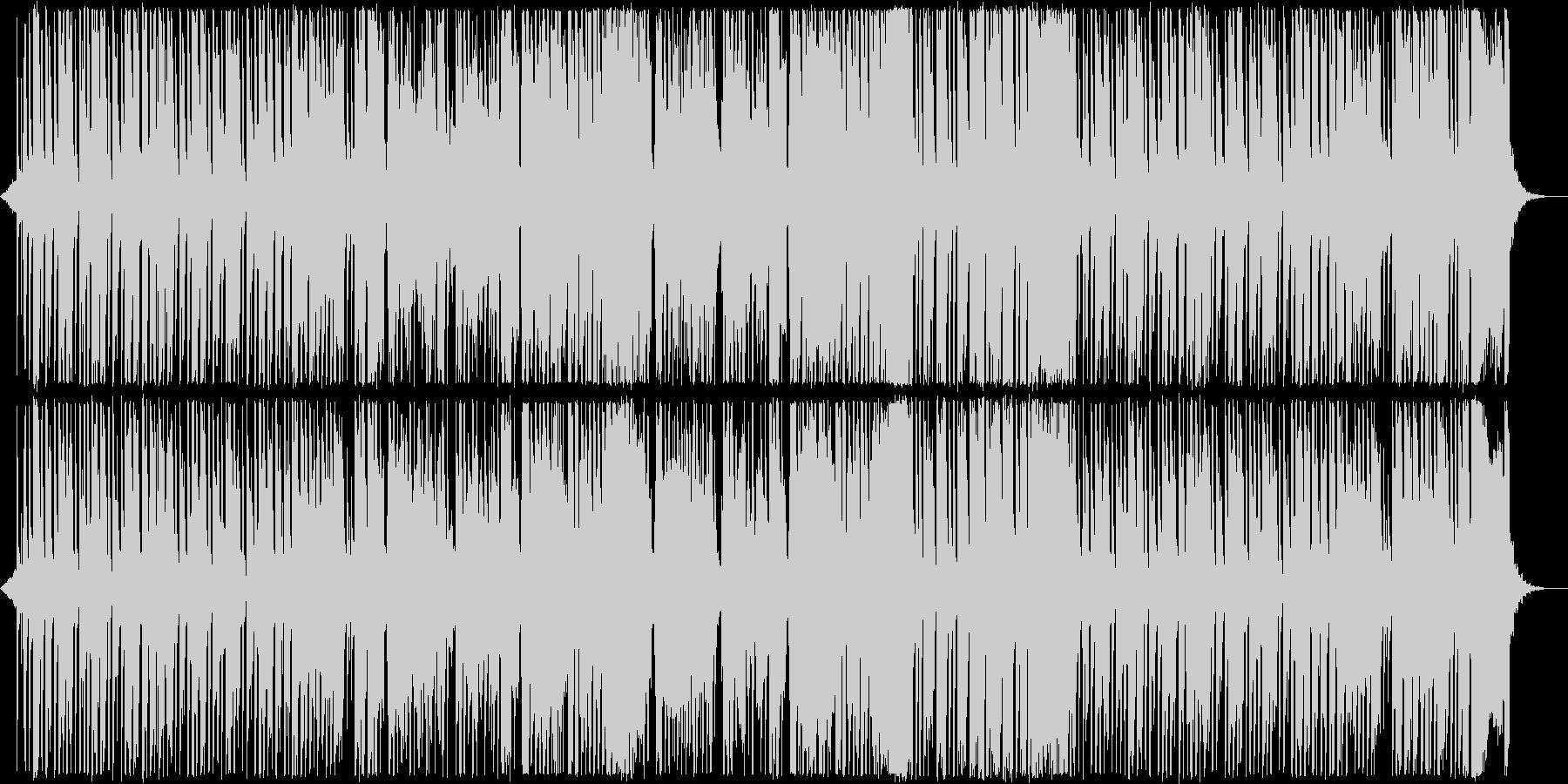 和風テクノポップの未再生の波形
