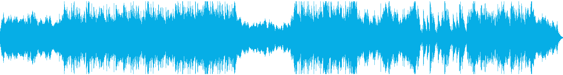 打楽器主体の泥臭さのある戦いBGMの再生済みの波形